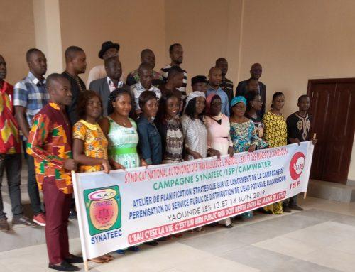La société civile se rassemble pour la remunicipalisation des services d'eau au Cameroun
